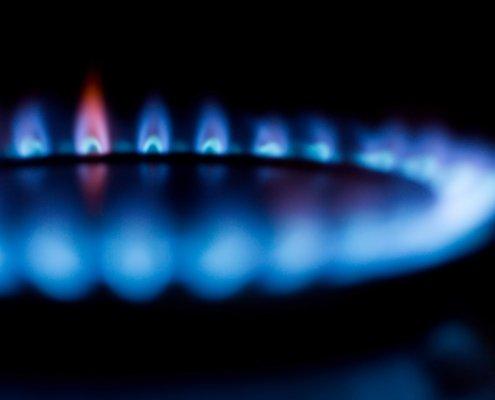 instalación de gas para cocción