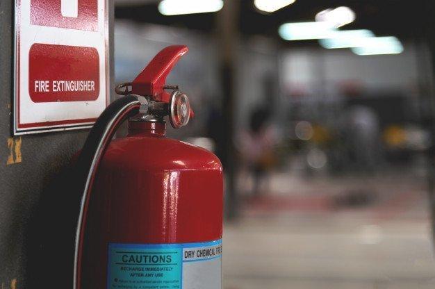 Seguridad Laboral. ¿Que hacer en caso de incendio?