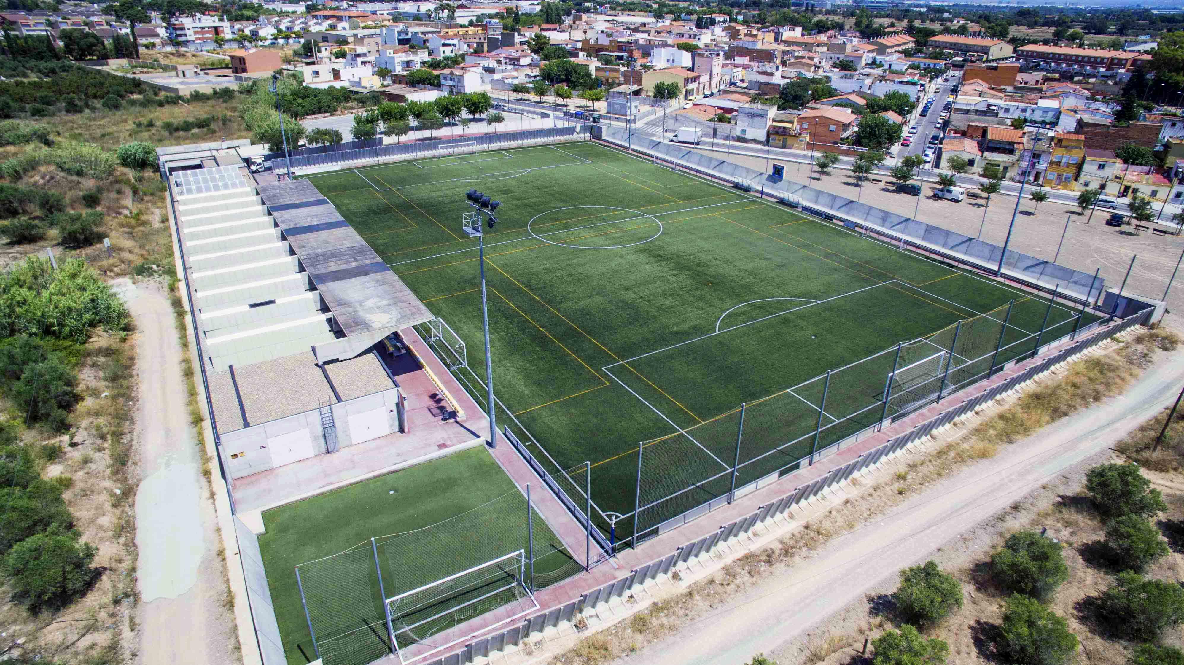 El campo de fútbol La Pastoreta ya cuenta con nuevas instalaciones