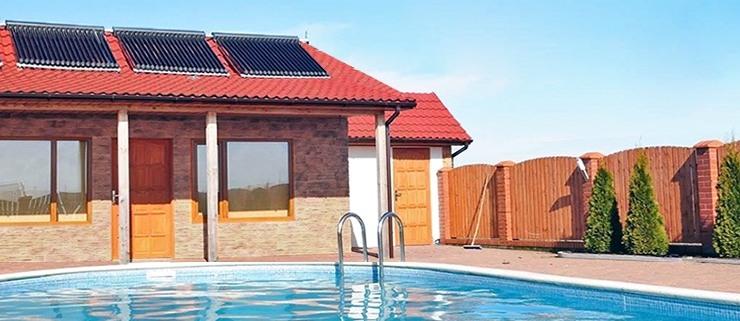 Climatizar piscina con placas solares