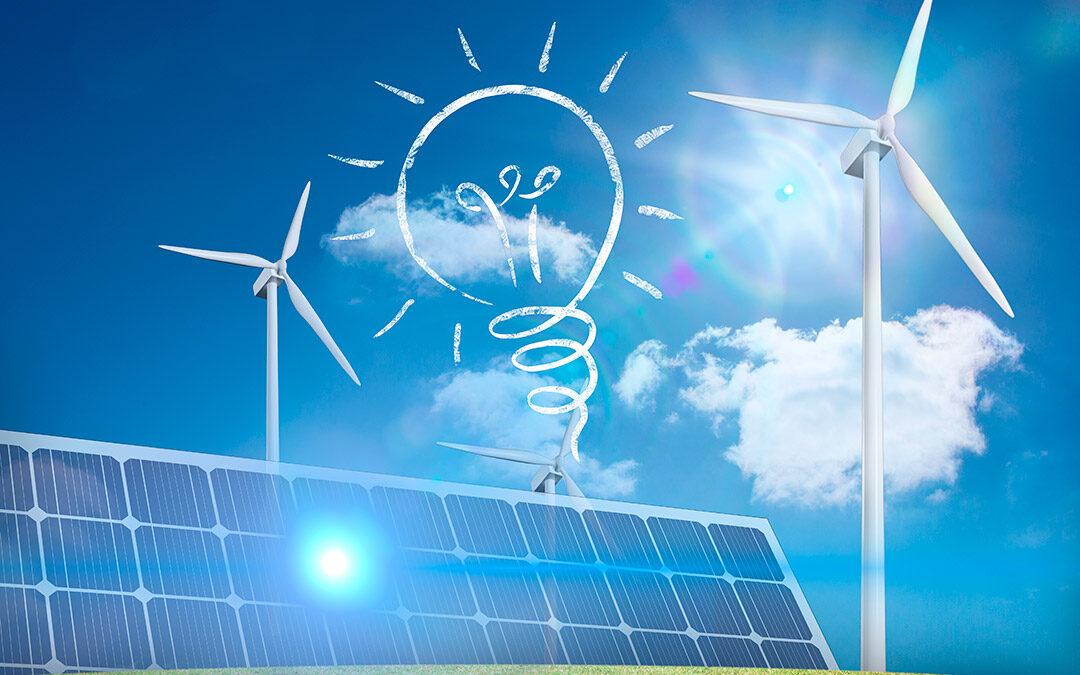 Rècord de producció eléctrica mitjançant energies renovables al 2020